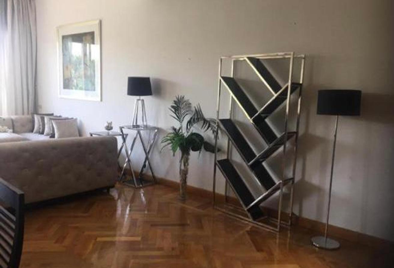 شقة جميلة150 م مفروشة للايجار في قطامية هايتس….