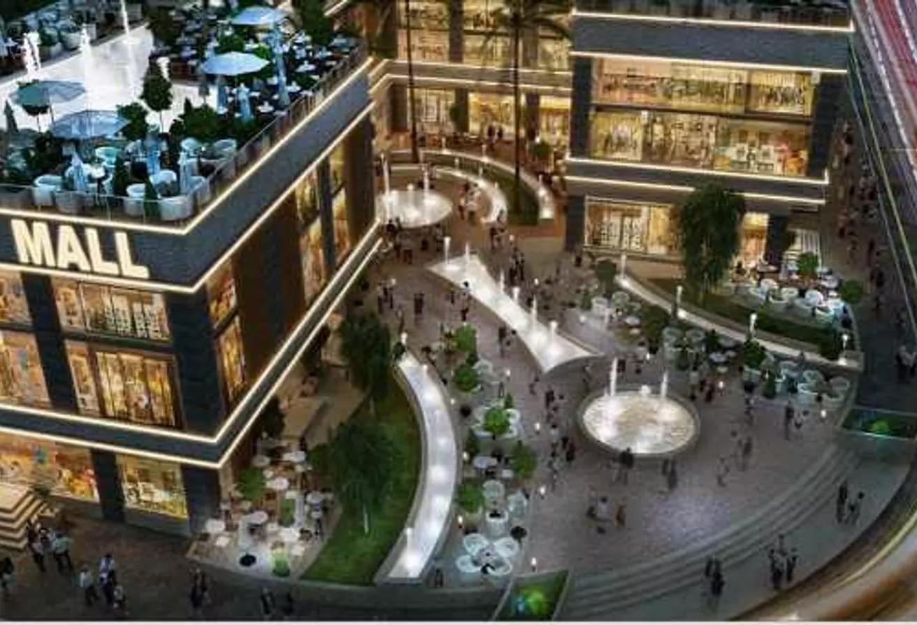 للبيع محل ارضي مبني العاصمة الادارية جاهز للمعاينة