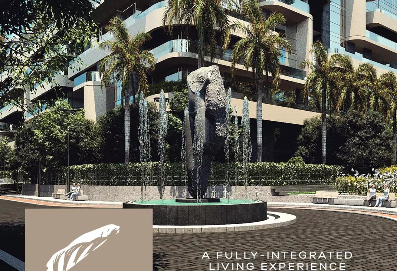شقة مميزه 114 متر في العاصمة بمقدم 8% the curve