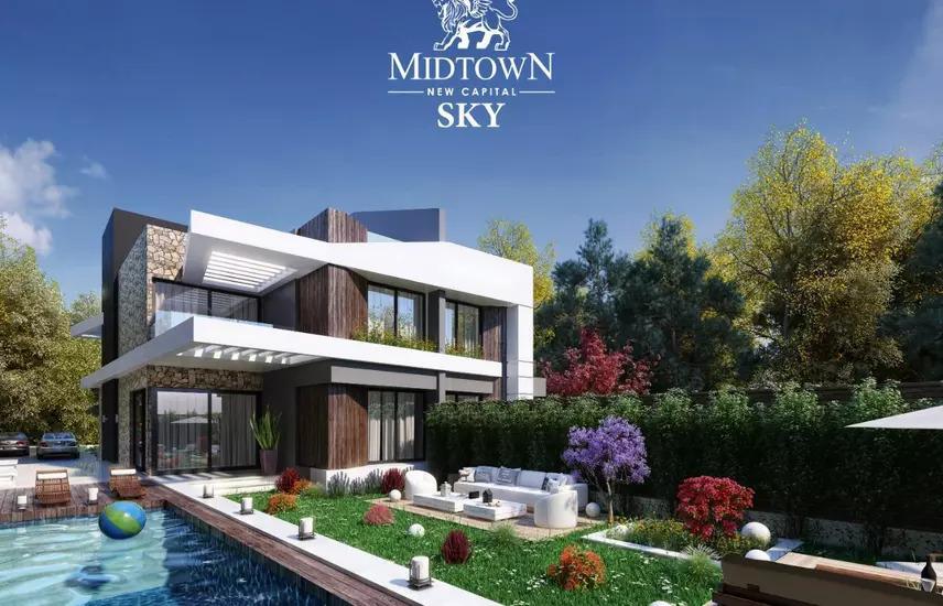 شقة العاصمة الادارية بخصم يصل 40 % sky midtown
