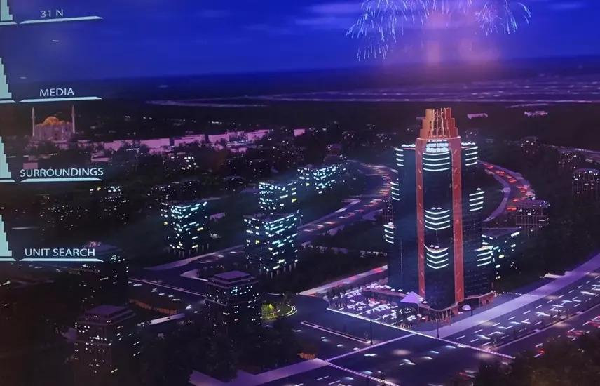 مكتب فيو مميز نايل تاور الداون تاون العاصمة خصم 5%