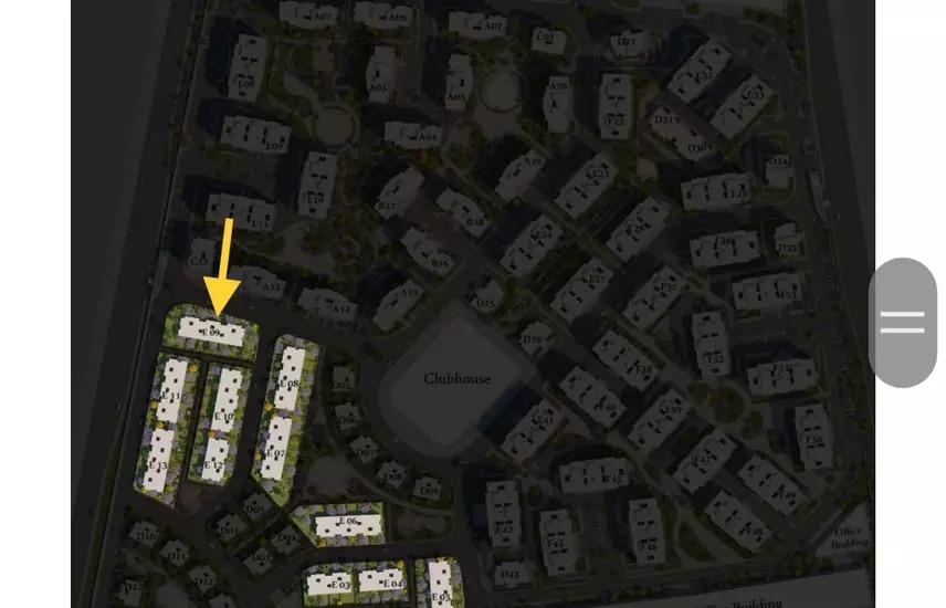 شقة 139متر في العاصمة علي النهر الاخضر بمقدم 10%