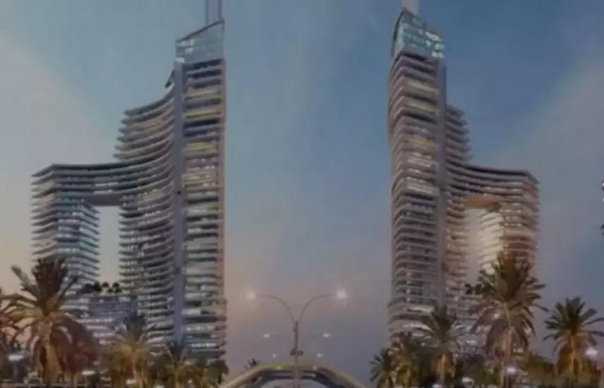 شقة في برج7Aالعالمين الجديدة ارخص من الشركة 2مليون