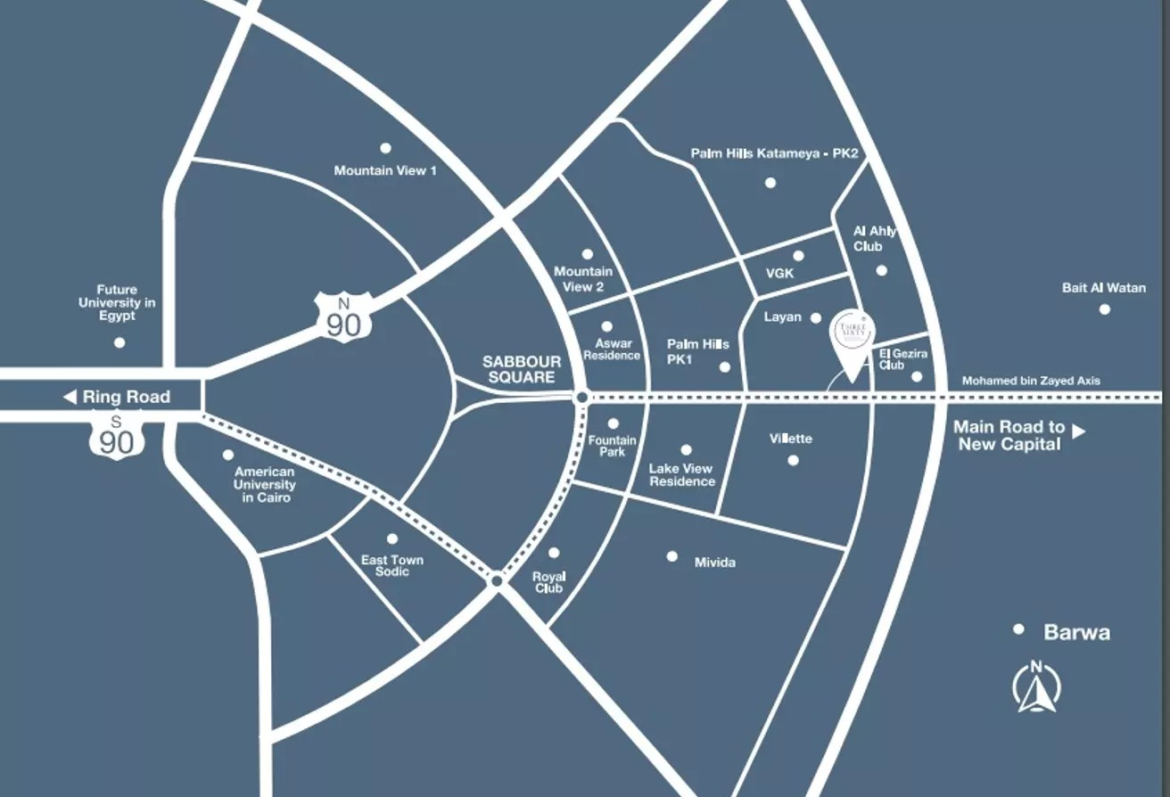 مساحات مكتبية للبيع في ليان ريزيدنس, كمبوندات التجمع الخامس