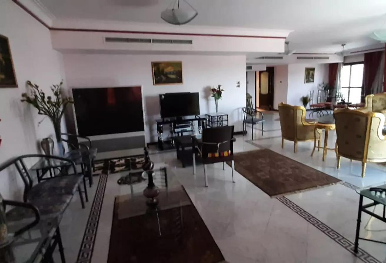 شقة سوبر لوكس للبيع بالمعادي الجديدة 250 متر