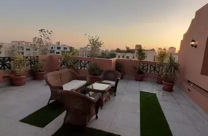 روف مفروشة مودرن للايجار في غرب الجولف 220 م…..