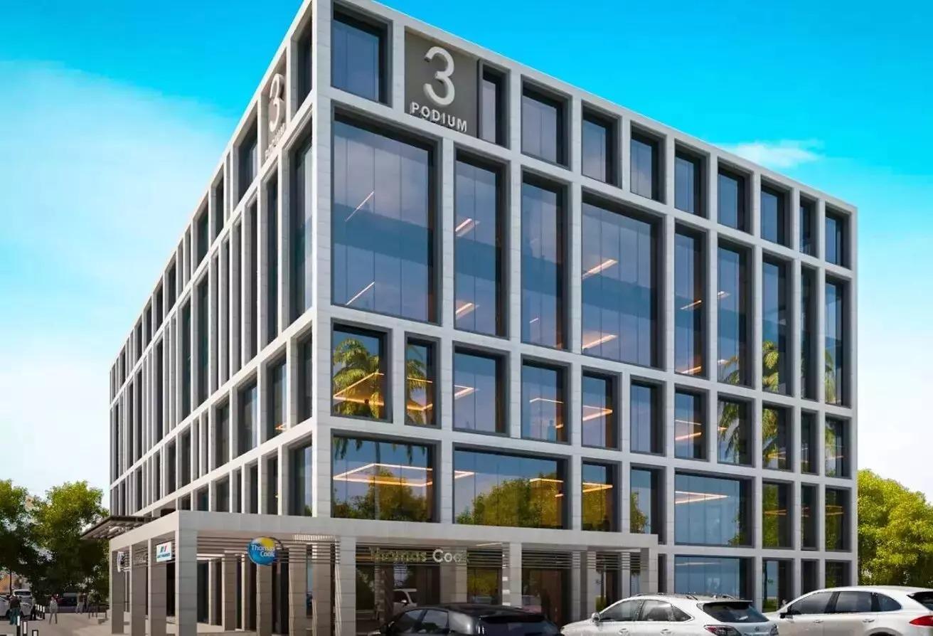 مساحات مكتبية للبيع في كايرو فيستيفال سيتى, المستثمرين الشمالية