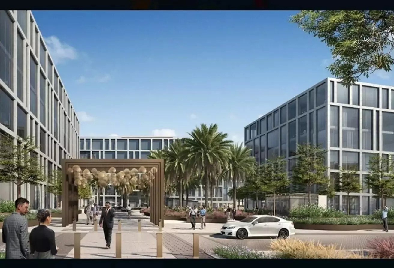 مساحات مكتبية للايجار في كايرو فيستيفال سيتى, المستثمرين الشمالية