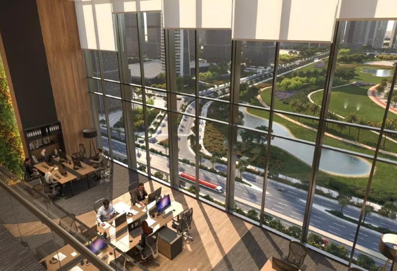 مساحات مكتبية للبيع في منطقة الأعمال المركزيه, العاصمة الإدارية الجديدة