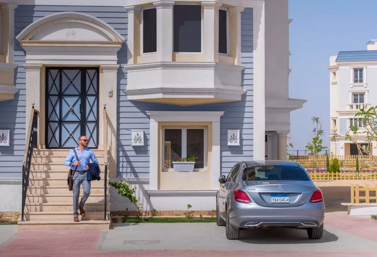 منزل مزدوج للبيع في ماونتن فيو هايد بارك, كمبوندات التجمع الخامس
