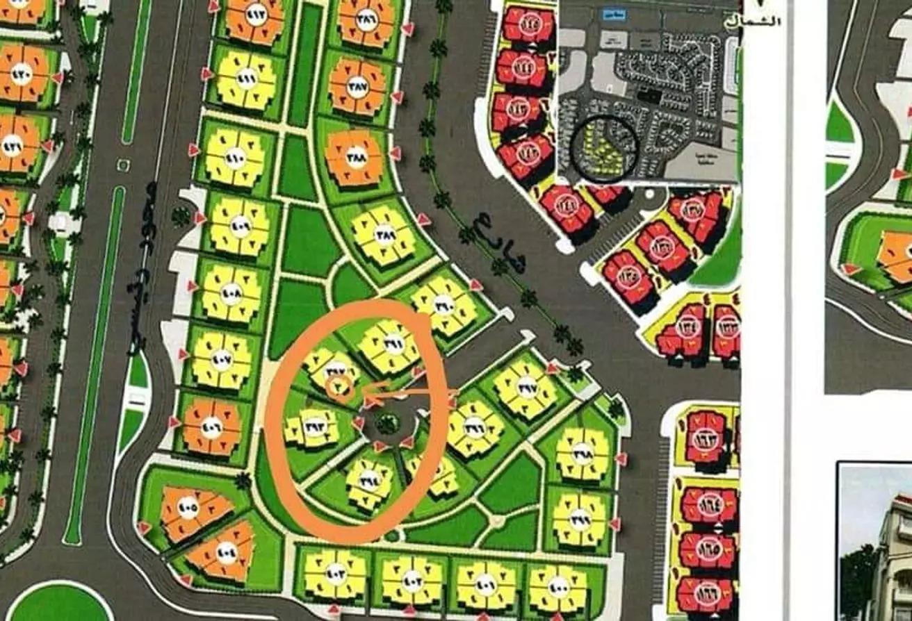 شقة للبيع في مدينة الخمائل, كمبوندات الشيخ زايد